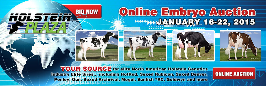 Online Embryo Auction: January 16-22, 2015